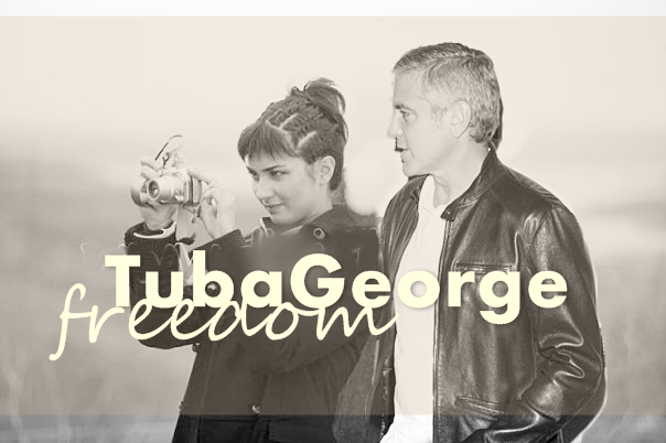 George Clooney and Tuba Buyukustun photshopped pictures 11840_202074506120_4596912_n