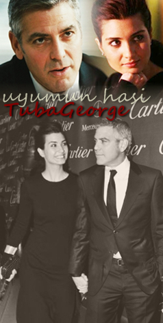 George Clooney and Tuba Buyukustun photshopped pictures 27182399