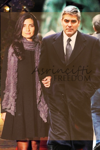 George Clooney and Tuba Buyukustun photshopped pictures 87904737