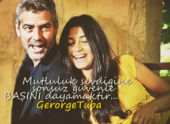 George Clooney and Tuba Buyukustun photshopped pictures - Page 2 Gertu