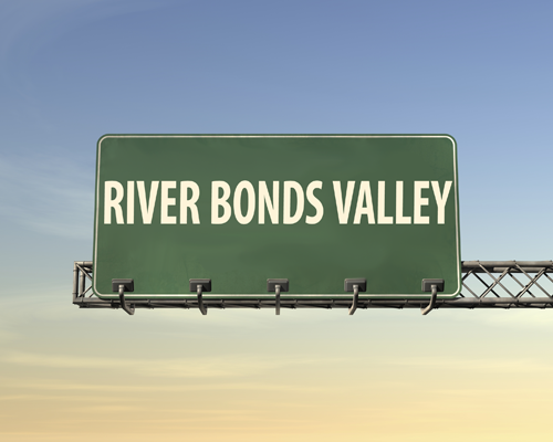 River Bonds Valley FutureRoadSign