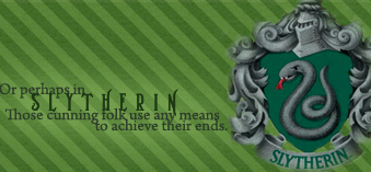 Hello! Slytherin