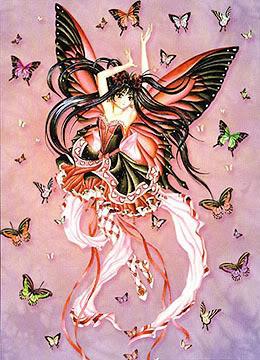 انمي فراشات Butterfly