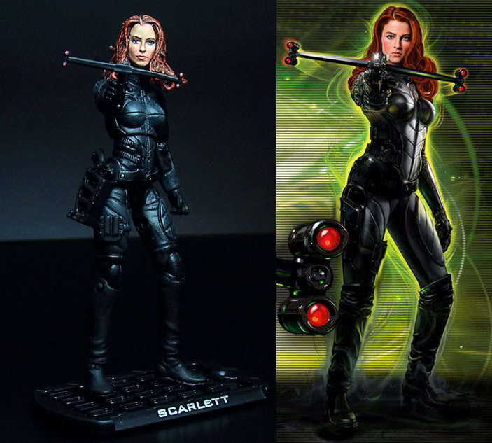 "RATEEG CREATIONS ~ SCARLETT (G.I.JOE ""The Rise of Cobra"") Page 1 Scarlettcomparison"