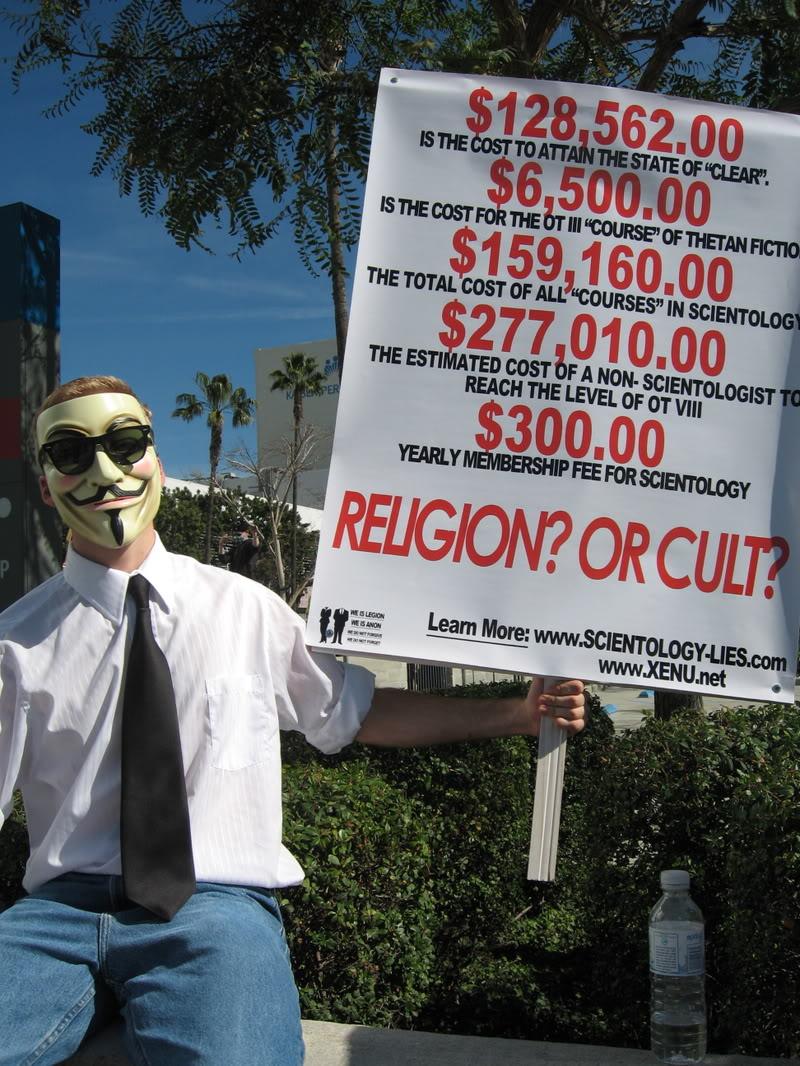 Religiones Excéntricas Scientology