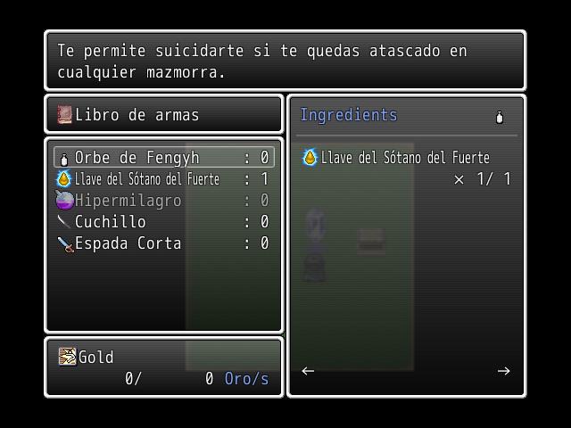 ( VX ) Script para contruir armas , objetos , armuduras etc. Craft