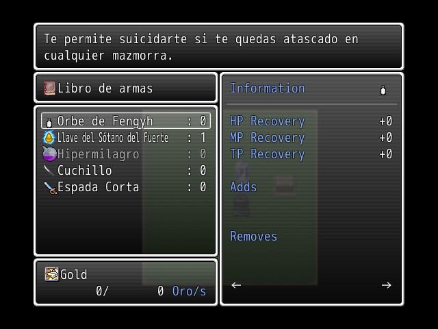 ( VX ) Script para contruir armas , objetos , armuduras etc. Craft2