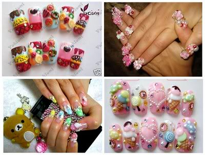kawaii nails Pictures, Images and Photos