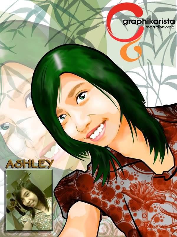 MY VECTOR PORTRAIT Ashley