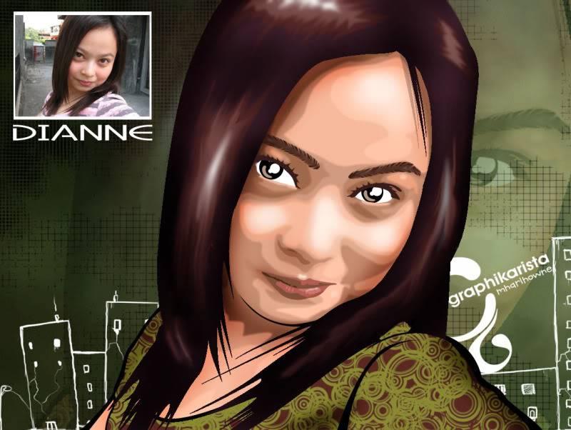 MY VECTOR PORTRAIT Dianne