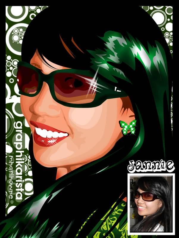MY VECTOR PORTRAIT Jannie013009