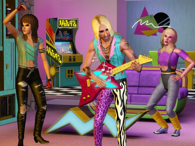 Carátula y nuevas fotos de Sims 3, Los '70, los '80 y los '90 1