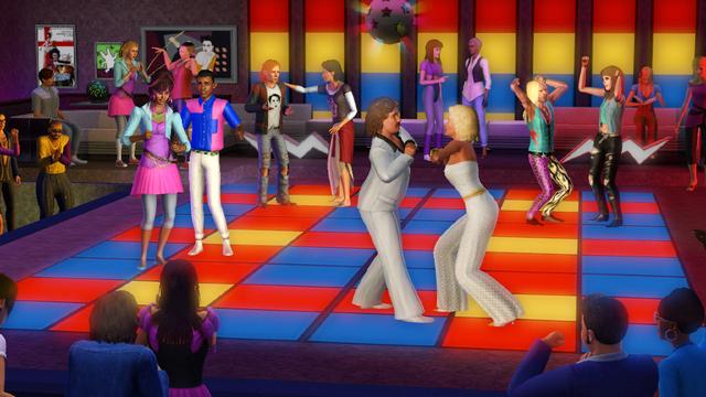 Carátula y nuevas fotos de Sims 3, Los '70, los '80 y los '90 2