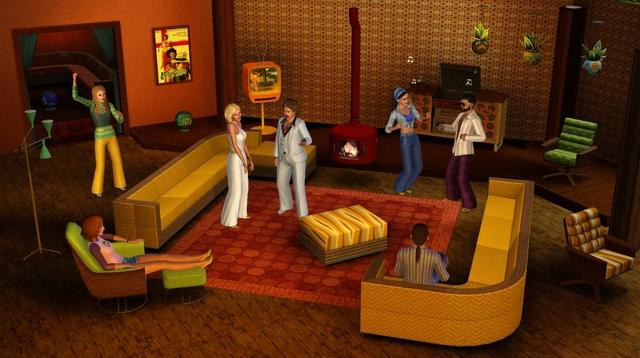 Carátula y nuevas fotos de Sims 3, Los '70, los '80 y los '90 3