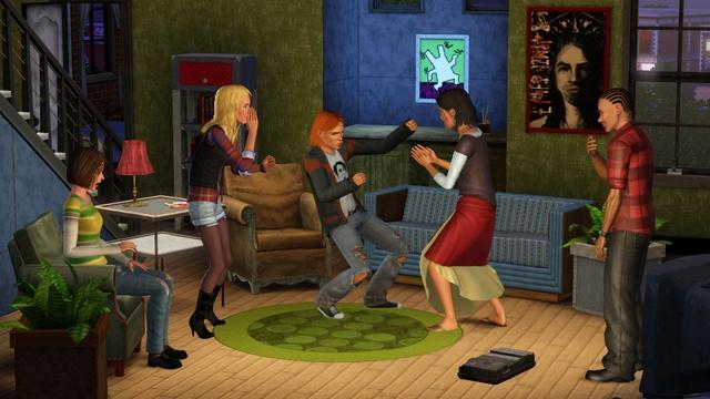 Carátula y nuevas fotos de Sims 3, Los '70, los '80 y los '90 4