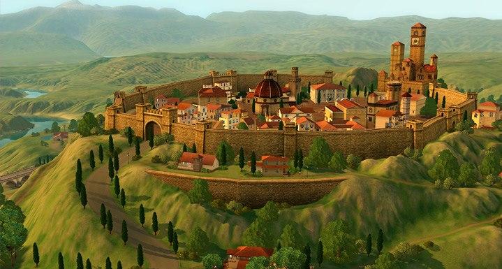 Nuevas fotos e información de Monte Vista, el nuevo mundo de EA Store para los Sims 3 1