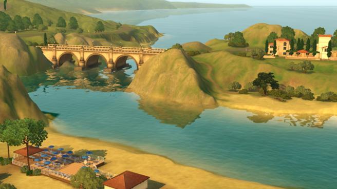 Nuevas fotos e información de Monte Vista, el nuevo mundo de EA Store para los Sims 3 11