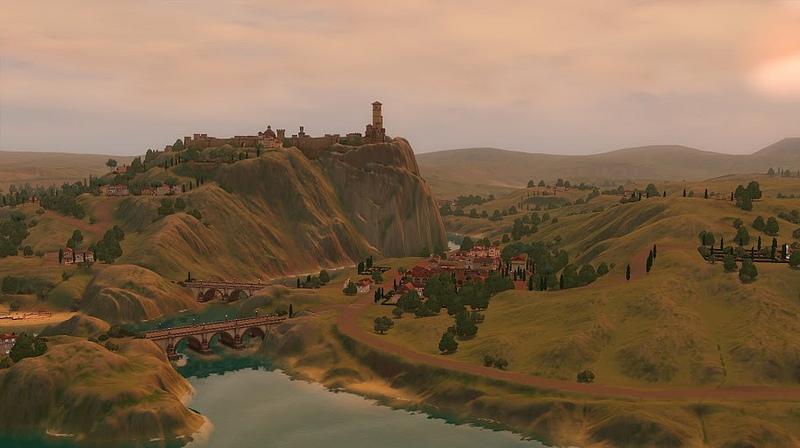 Nuevas fotos e información de Monte Vista, el nuevo mundo de EA Store para los Sims 3 2