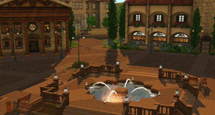 Nuevas fotos e información de Monte Vista, el nuevo mundo de EA Store para los Sims 3 5