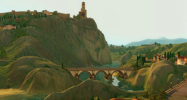 Nuevas fotos e información de Monte Vista, el nuevo mundo de EA Store para los Sims 3 9
