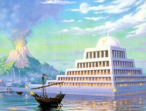 Atlantis Found: Giant Sphinxes, Pyramids In Bermuda Triangle (update)  Atlantis20The20Lost20Continent