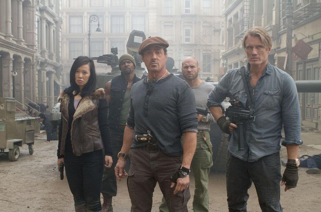 La montre des héros du film Expandable 2 EX2_bronze
