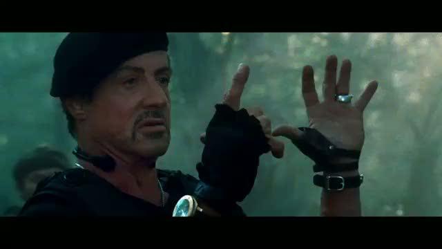 La montre des héros du film Expandable 2 Exp2stal