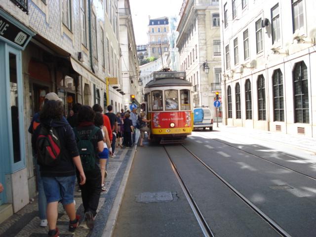 Tranvías de Lisboa. DSC04277