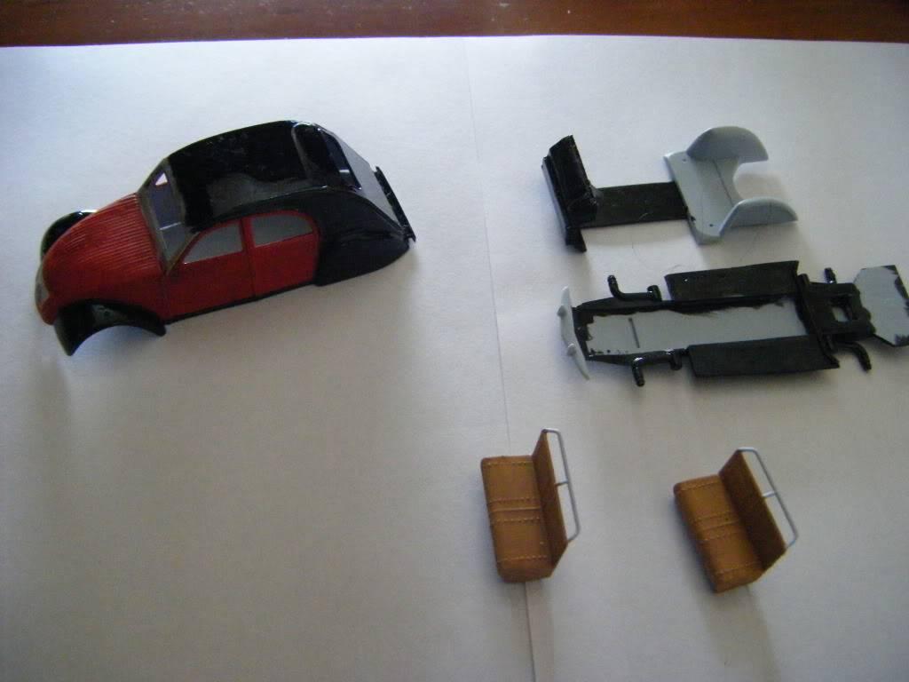 2 CV  Citroen  1/43 J