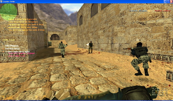 Counter Strike 1.6 Download, CS 1.6 Pro Version With BOTS Cs16_bots1