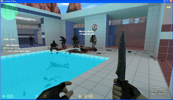 Counter Strike 1.6 Download, CS 1.6 Pro Version With BOTS Cs16_bots3