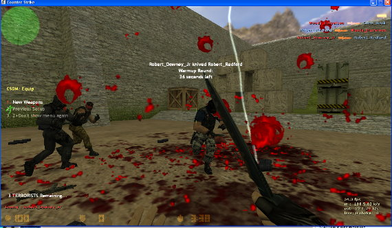 Counter Strike 1.6 Download, CS 1.6 Pro Version With BOTS Cs16_bots4