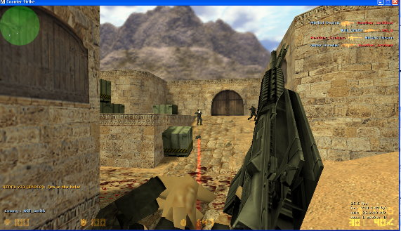 Counter Strike 1.6 Download, CS 1.6 Pro Version With BOTS Cs6_bots2