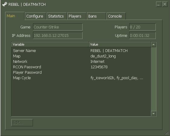 Counter Strike 1.6 Download, CS 1.6 Pro Version With BOTS Hlds_3
