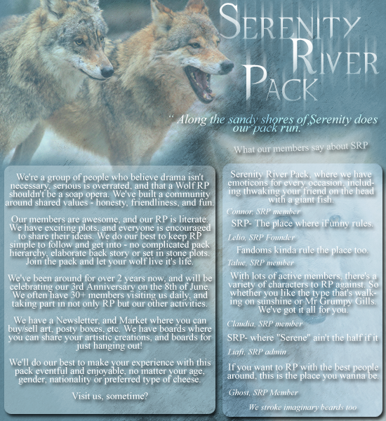 Serenity River Pack :: a wolf role play SRPAd_zpsaf2b44cb