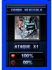 """Nuevo dado """"Combo Vehiculo"""" 1"""