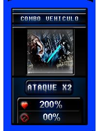 """Nuevo dado """"Combo Vehiculo"""" 2"""