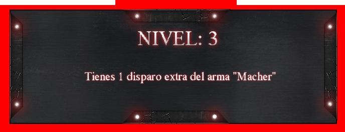 Especialidades [Vampiro] 3-6