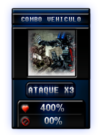 """Nuevo dado """"Combo Vehiculo"""" 3"""