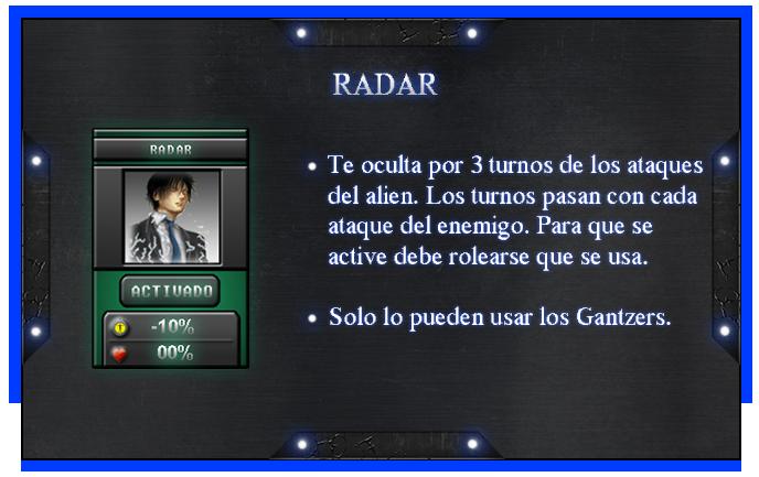 Reglas y Guias [Gantzer] Radar