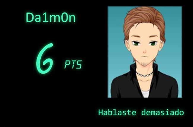 Misión F0-01 ROL [Puntajes]  Daimon