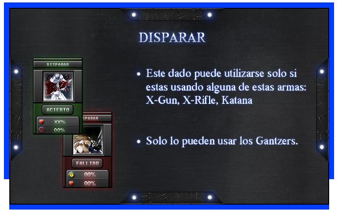Reglas y Guias [Gantzer] Disparar