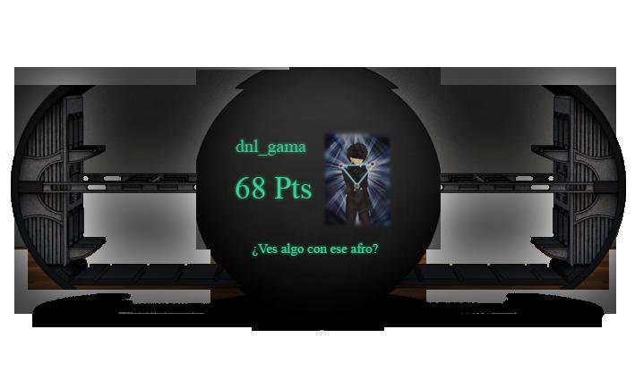 Rol General (Regreso de misión F4-9) Gama