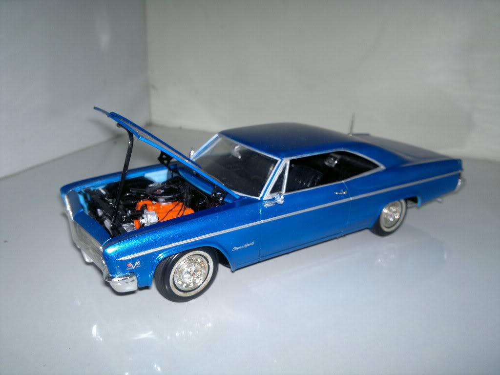 Chevy 66 ss motor 396 >Revell 1/25 2012-03-23-102