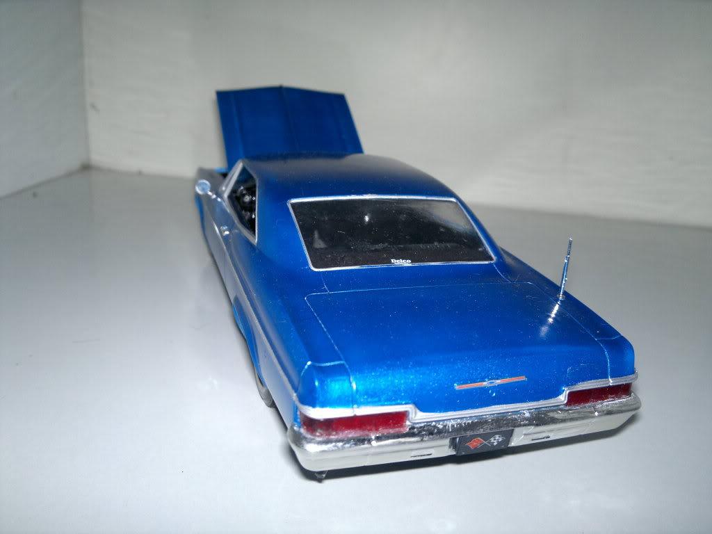 Chevy 66 ss motor 396 >Revell 1/25 2012-03-23-104