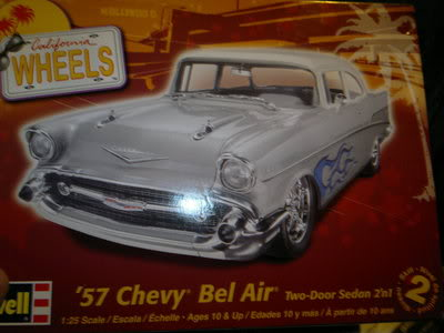 Chevy Belair 57 Revell 1/25 2012-04-19-167