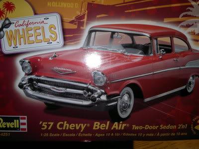 Chevy Belair 57 Revell 1/25 2012-04-19-168