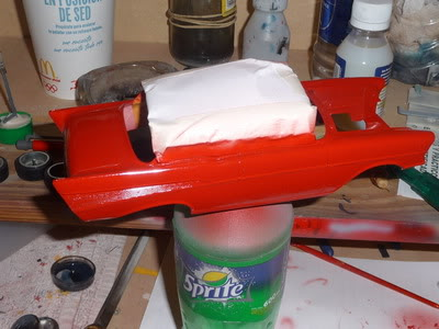 Chevy Belair 57 Revell 1/25 P1020374
