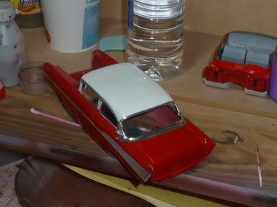 Chevy Belair 57 Revell 1/25 P1020376