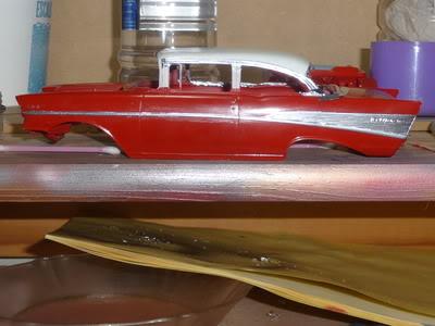 Chevy Belair 57 Revell 1/25 P1020377